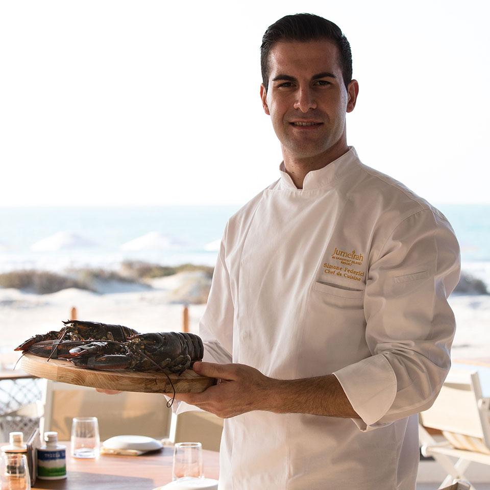 卓美亚萨迪亚特岛度假酒店 Mare Mare 餐厅主厨