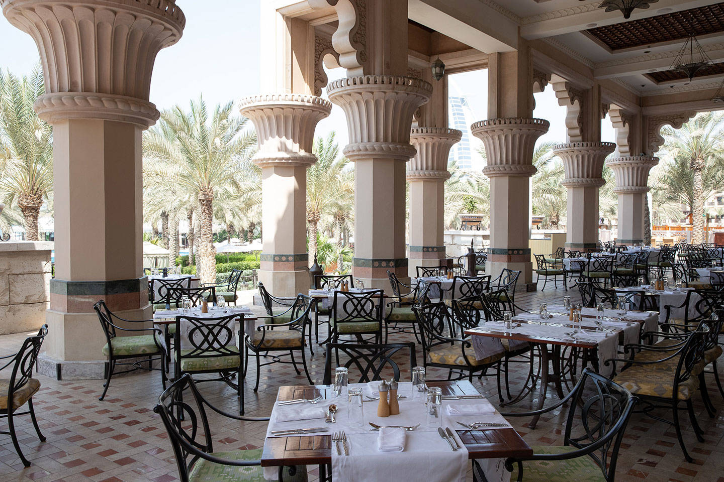 Restaurant view at Arboretum-Restaurant - Jumeirah-Al-Qasr