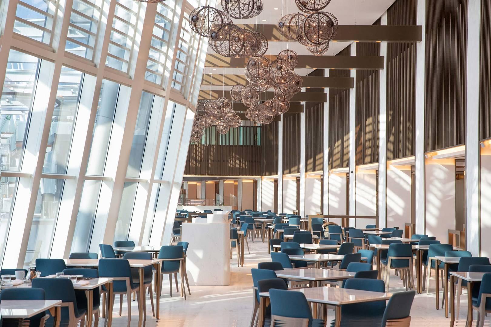Ресторан Kitchen Connection в отеле Jumeirah Beach Hotel