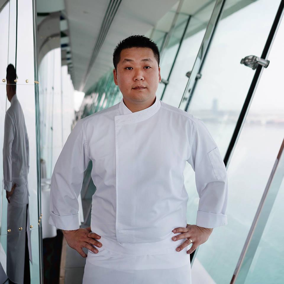 Jumeirah Bujrj Al Arab Chef Kim Joini