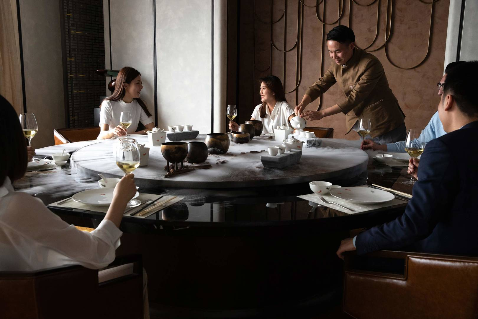 南京卓美亚酒店陆潮用餐体验