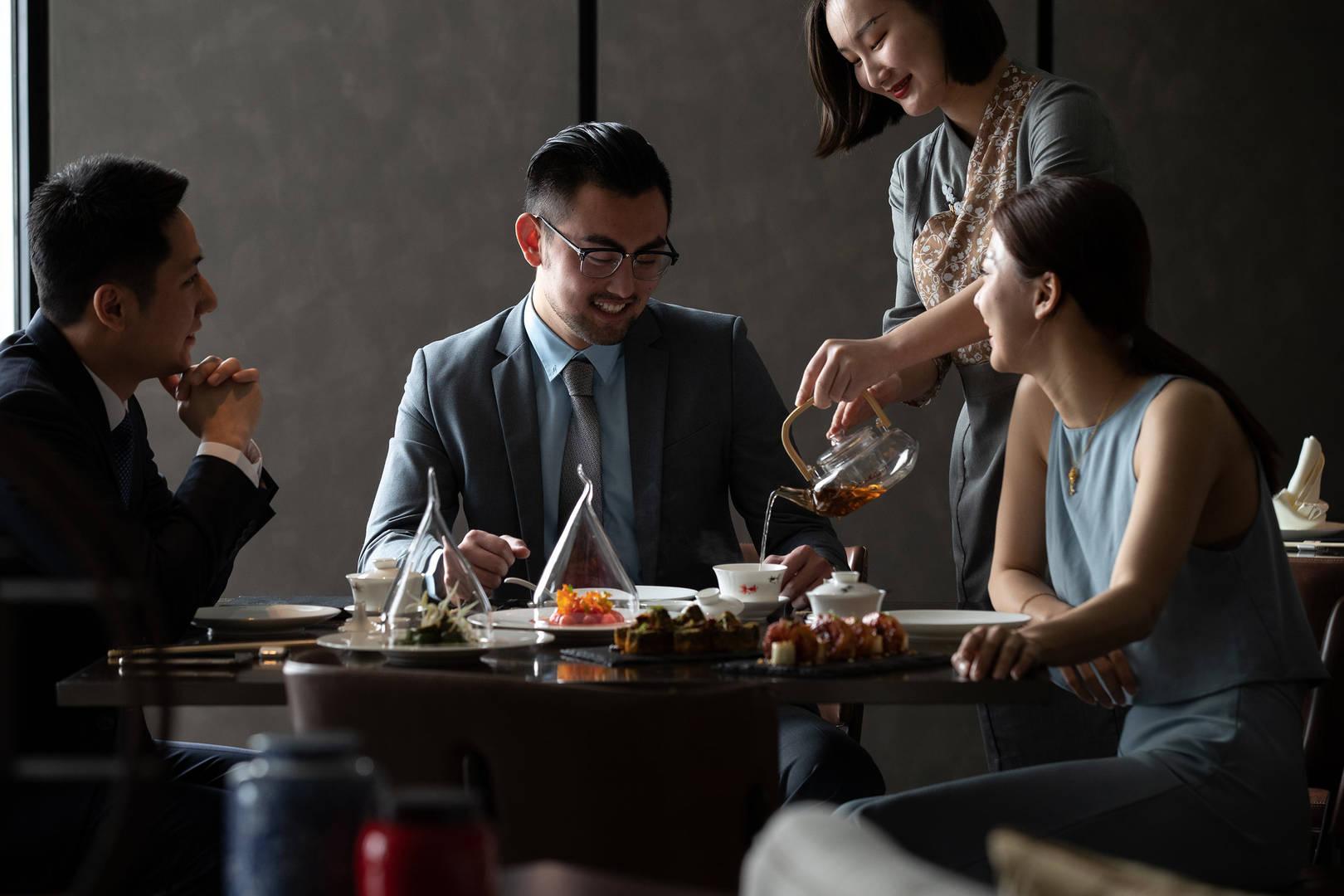 Jumeirah Nanjing Lu Chao Business-Lunch