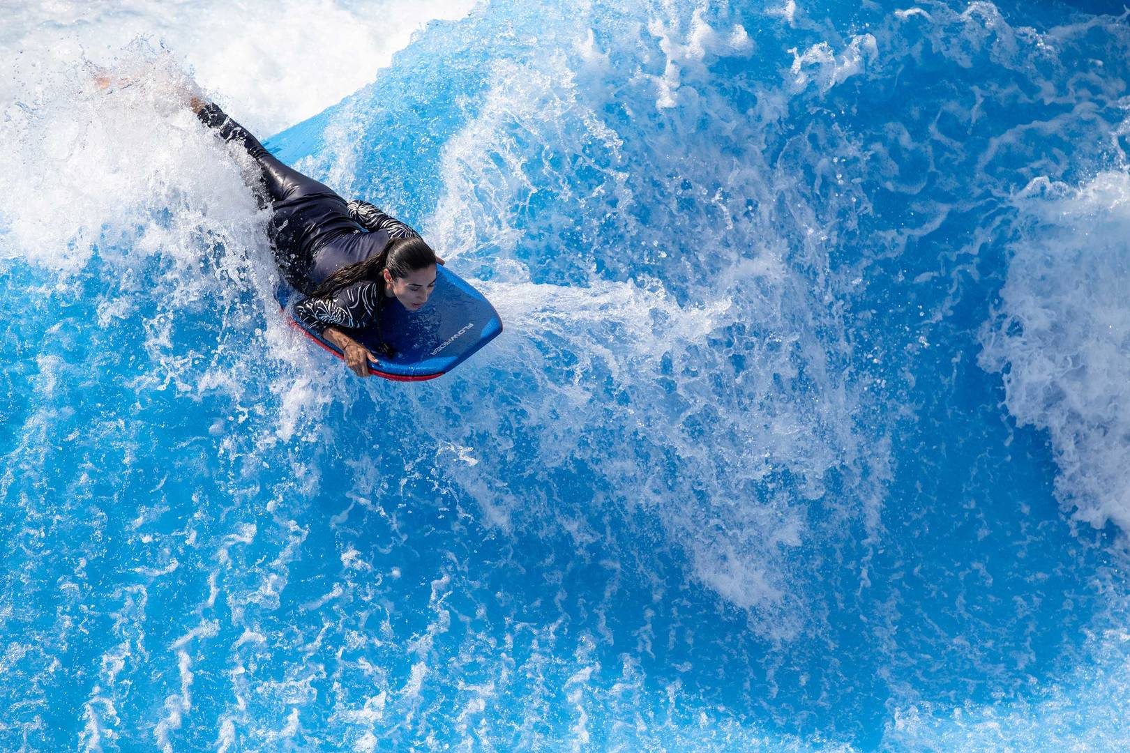 Wild Wadi Waterpark Wipeout and Riptide   Jumeirah