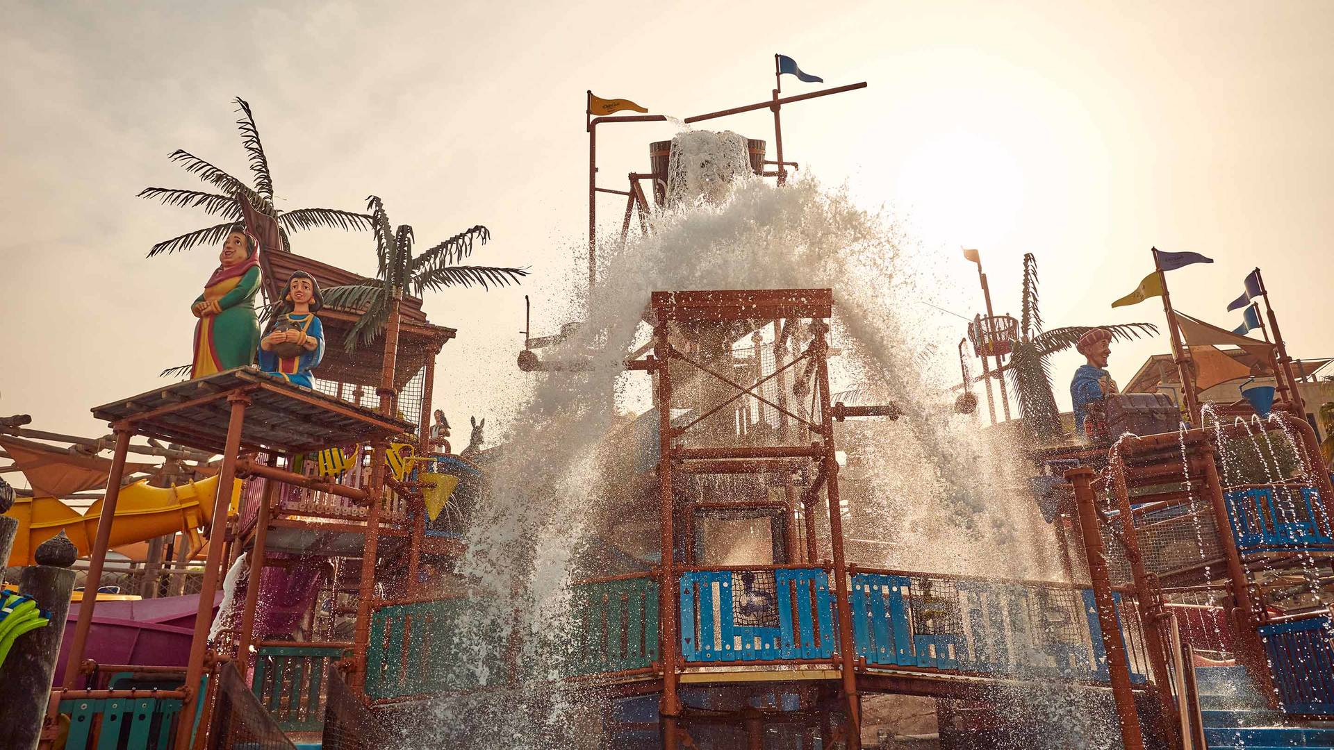 Wild Wadi Waterpark Juhas Dhow and Lagoon | Jumeirah